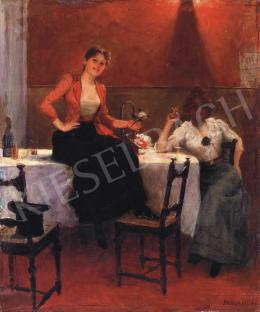 Jendrassik, Jenő - Ladies in Good Mood Courtesans), 1900