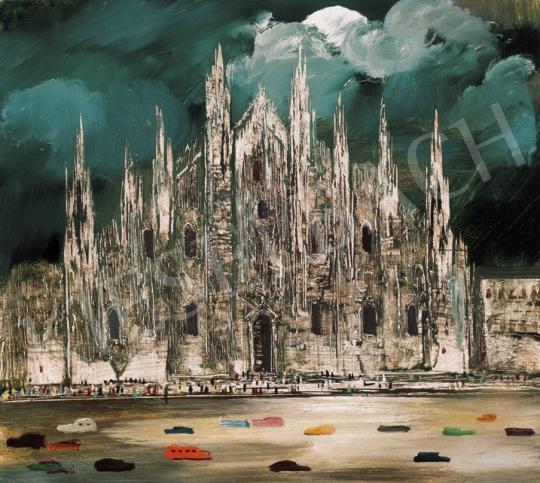 Molnár C. Pál - Milánói dóm (Múlt és Jelen) | 20. Aukció aukció / 76 tétel