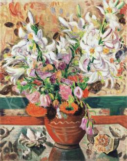 Vörös, Géza - Still-Life with Flowers, 1939