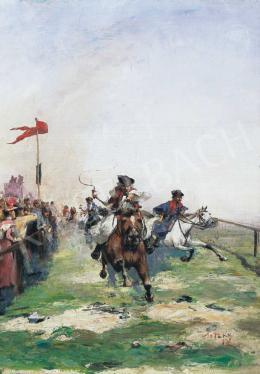 Pataky László - Lóverseny, 1887