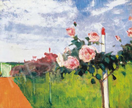 Kléh János - Szolnoki kert rózsafával | 32. Aukció aukció / 42 tétel