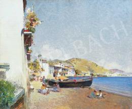 Herrer Cézár - A Földközi-tenger Genovánál, 1900