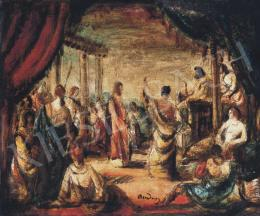 Rudnay Gyula - Krisztus Pilátus előtt