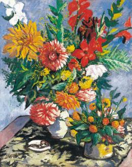 Bertalan, Albert - Great Still-Life with Flowers, 1939