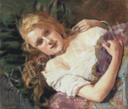 Frank Frigyes - Szőke lány
