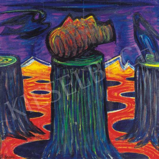 Kazovszkij, El - Táj szirénnel, 1993 | 32. Aukció aukció / 76 tétel