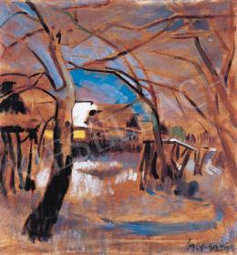 Nagy Oszkár - Késő ősz Nagybányán