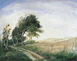 Rudnay, Gyula - Landscape of Bábony