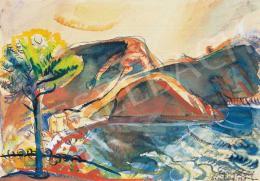 Egry József - Isola Bella, 1930