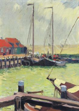Nyilasy Sándor - Holland vitorláskikötő