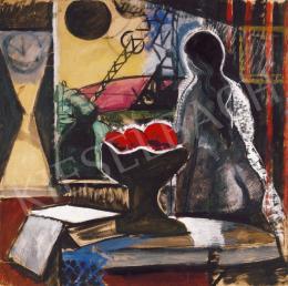Farkas István - Nő ablaknál