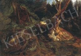 Brodszky Sándor - Beszűrődő fények az erdőben