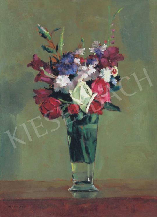 Mund Hugó - Virágok vázában | 32. Aukció aukció / 131 tétel