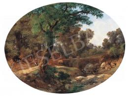 Ifj. Markó Károly - Romantikus táj, 1870