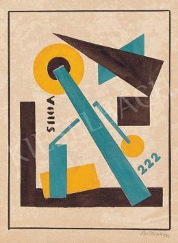 Bortnyik Sándor - Cím nélkül, Ma, 1921