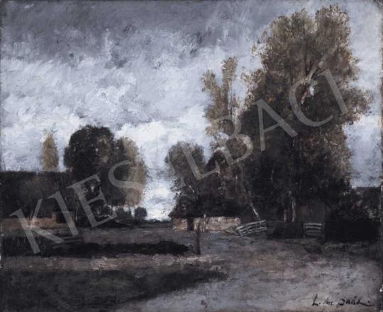 Paál László - Barbizoni táj | 32. Aukció aukció / 187 tétel