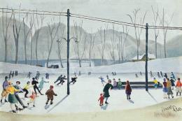 Jancsek, Antal - Skaters, 1930