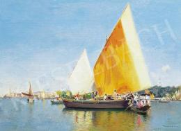 Herrer, Cézár - Venetian Sailing Boat