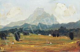 Molnár C. Pál - Az Alpok lábánál