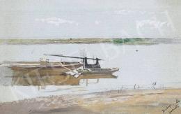 Mednyánszky László - Tavaszi folyópart
