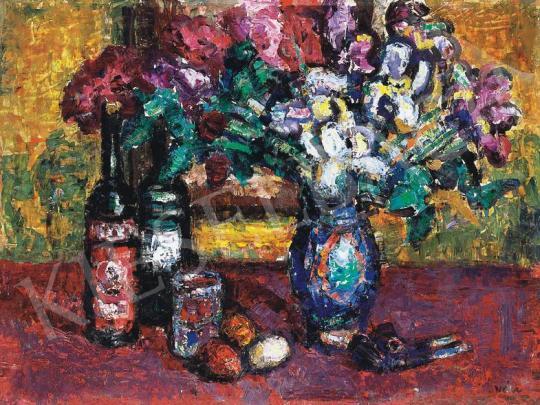 Vén Emil - Virágcsokor gyümölcsökkel | 33. Aukció aukció / 11 tétel