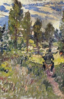 Scheiber Hugó - A festő a szabadban