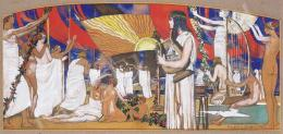 Kacziány, Aladár - Art Nouveau Scene