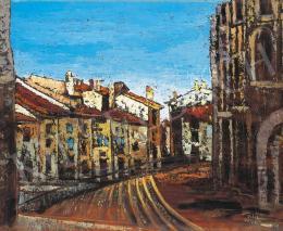 Orbán, Dezső - Street in Arles, 1926
