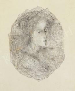 Gulácsy, Lajos - Girl