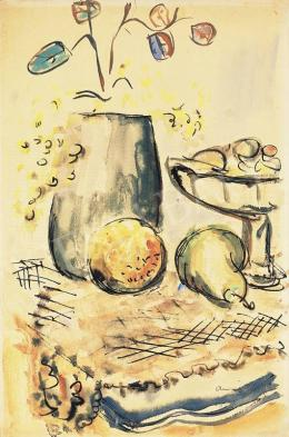 Ámos, Imre - Still-Life with a Pear, 1930