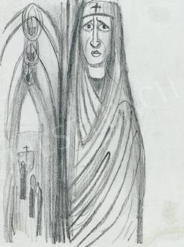 Gulácsy Lajos - Apáca