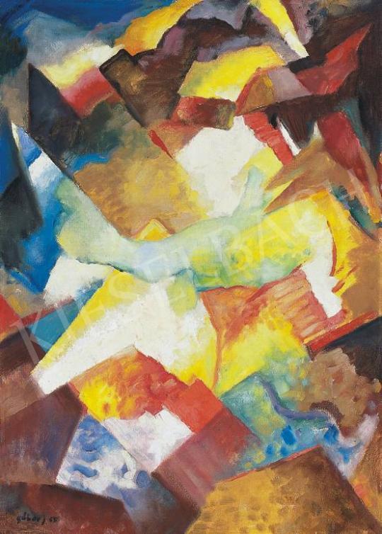 Gábor Jenő - Kompozíció | 33. Aukció aukció / 66 tétel