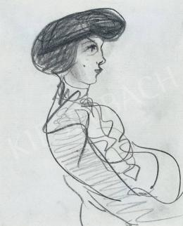 Gulácsy Lajos - Lány