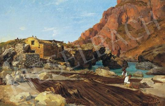 Ligeti, Antal - Detail of a Landscape near Naples | 33rd Auction auction / 108 Item