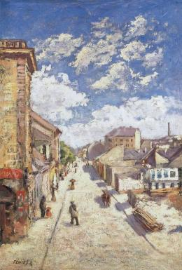 Fényes, Adolf - Streets in a Small Town