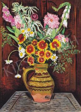 Vörös, Géza - Wild Flowers in a Vase