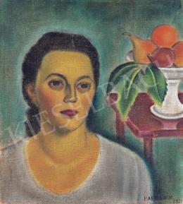 Bartoniek Anna - Lány gyümölcsökkel