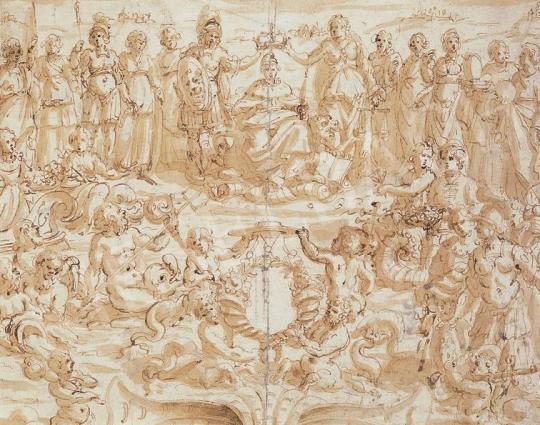 Ismeretlen festő - Jelenet   33. Aukció aukció / 132 tétel