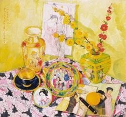 Fülöp Antal Andor - Japán csendélet