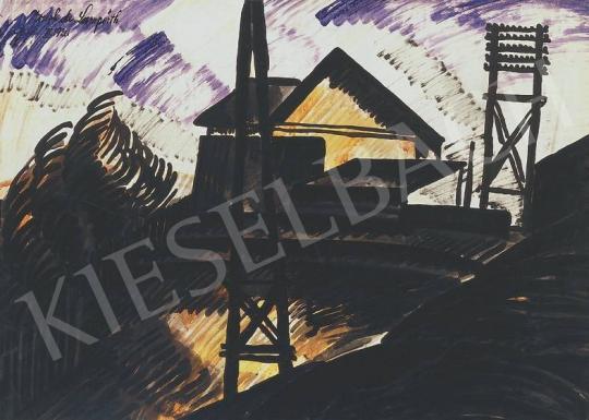 Nemes Lampérth József - Vasúti őrház | 33. Aukció aukció / 152 tétel