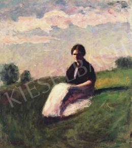 Koszta, József - In the Field, 1892