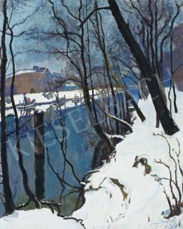 Ziffer, Sándor - Winter Landscape, 1917
