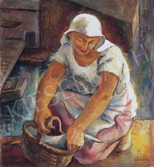 Gábor Jenő - Halászlány | 33. Aukció aukció / 189 tétel