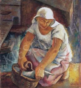 Gábor, Jenő - Fishing Girl