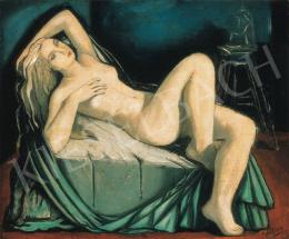 Bertalan, Albert - Nude in the Atelier, 1920