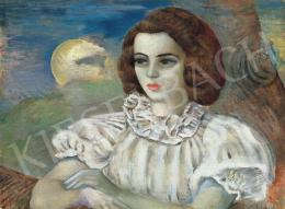 Klie Zoltán - Nő holdvilággal