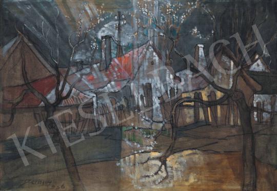 Remsey Jenő György - Kisvárosi utca, 1936 | 33. Aukció aukció / 230 tétel