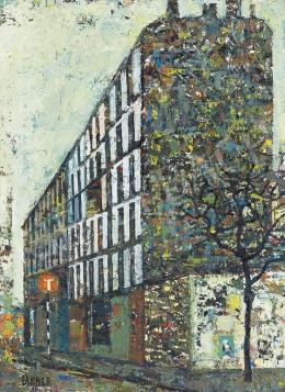 Lakner László - Párizsi szálloda, 1959