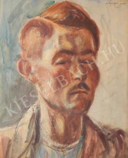Nyergesi János - Önarckép (1926)