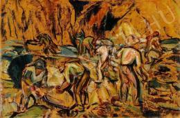 Egry József - Bányamunkások